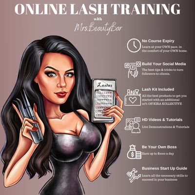 $700 OFF ONLINE LASH TRAINING