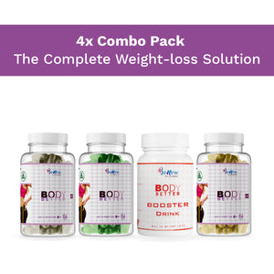 Body Better, Body Better Plus, Body Better LX, Body Booster (Combo)