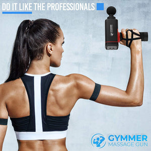 Gymmer™ Massage Gun Kit With Carry Bag - Gymmer Pro