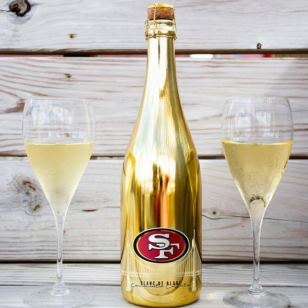 49ers Commemorative Gold Bubbly