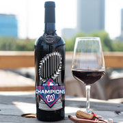 Washington Nationals 2019 World Series™ Champions Etched Wine