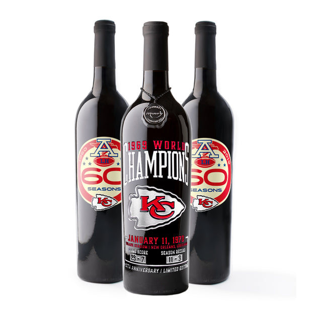 KC Chiefs Commemorative 3 Pack