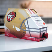 San Francisco 49ers Watermelon Wine Cocktail Box