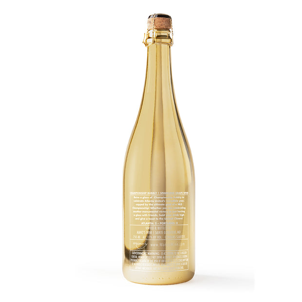 Atlanta United 2018 MLS Cup Champions Bubbly