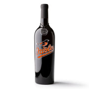 Baltimore Orioles™ Etched Wine Bottle