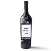 Baltimore Ravens Custom Photo Label Wine