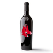 Boston Red Sox™ Etched Wine Bottle