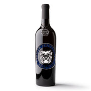 Butler University Logo Etched Wine