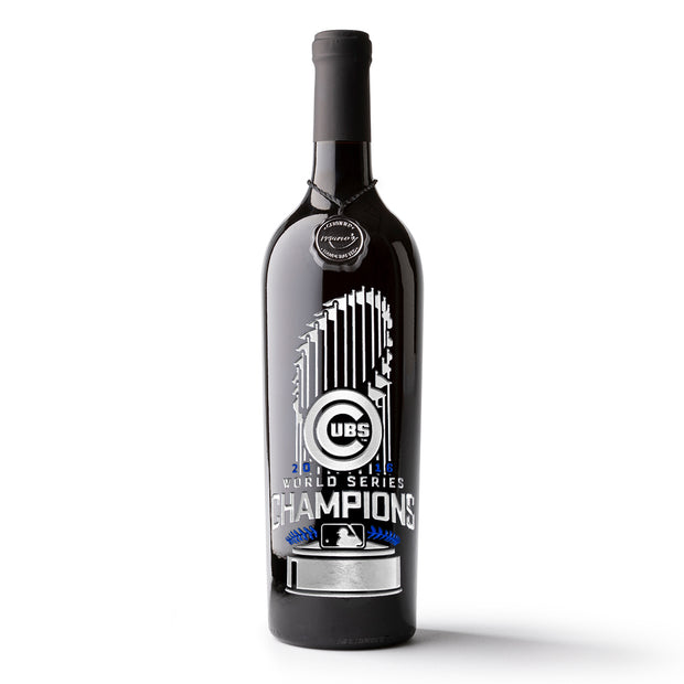 Chicago Cubs™ 2016 World Series™ Champions Wine Bottle