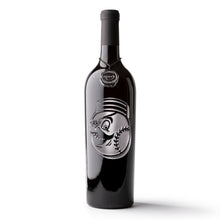 Load image into Gallery viewer, Cincinnati Reds™ Mascot Etched Wine Bottle