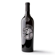 Cincinnati Reds™ Mascot Etched Wine Bottle