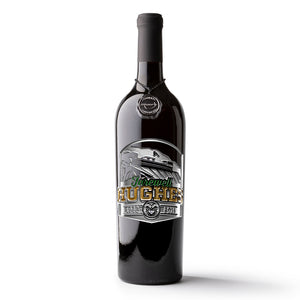 Colorado State Farewell Hughes Etched Wine Bottle