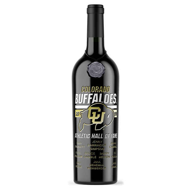 2019 CU Hall of Fame Etched Wine