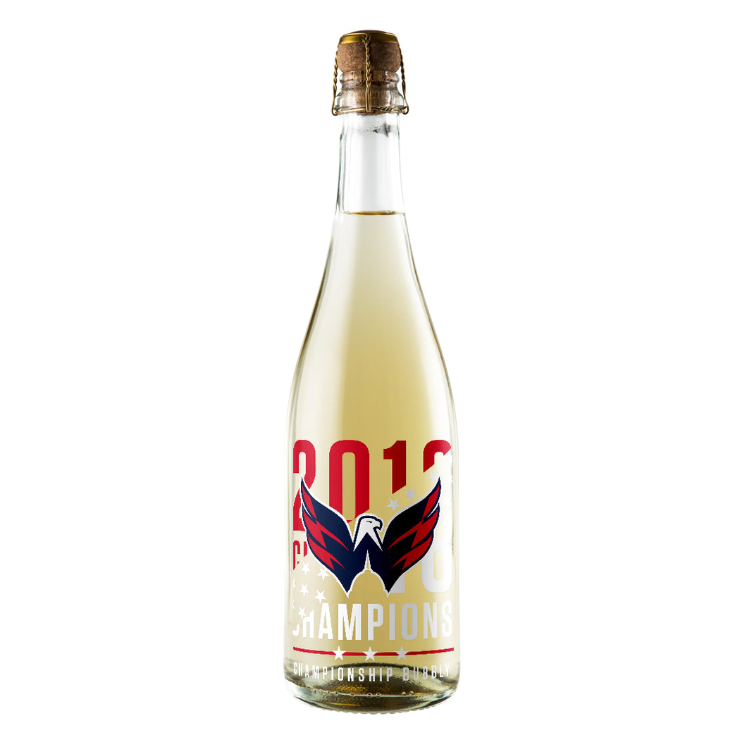 Washington Capitals 2018 Championship Bubbly
