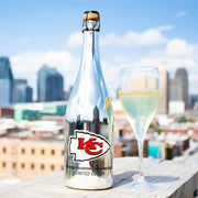 KC Chiefs 1969 Metallic Silver Bubbly
