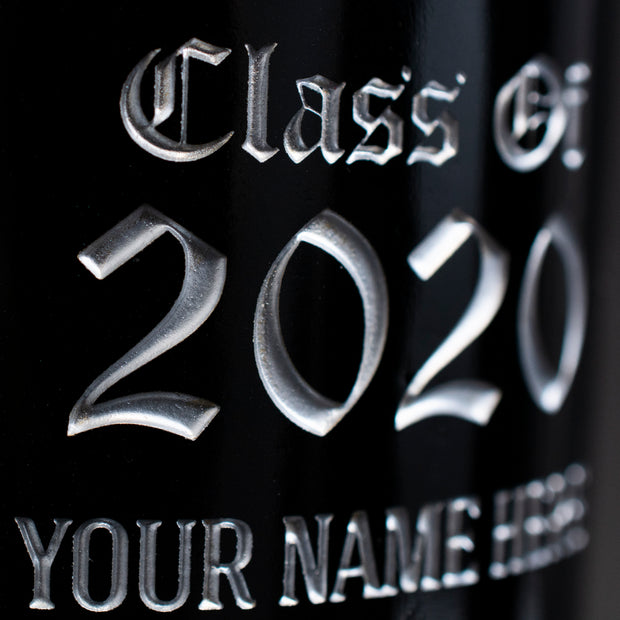 University of Connecticut Custom Alumni Etched Wine