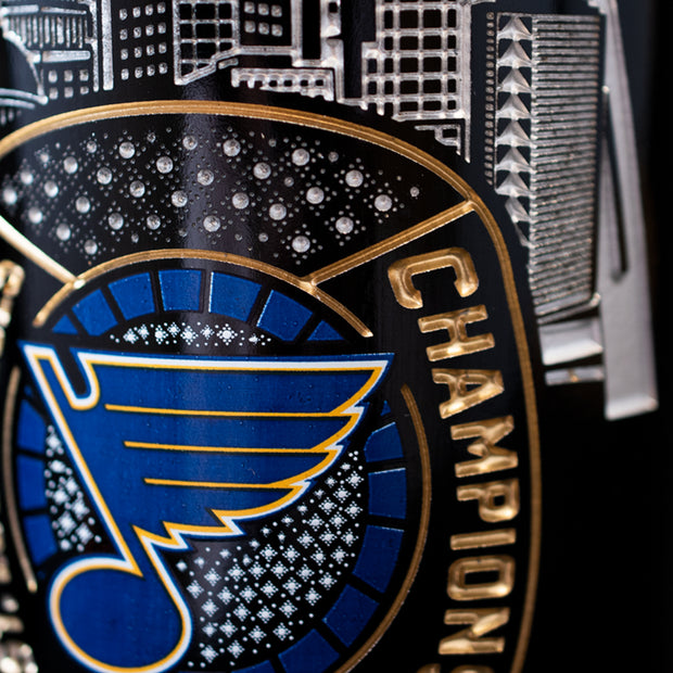 STL Blues 2019 Limited Edition Ring Etched Wine