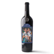 Father's Day Custom Photo Label Cabernet Sauvignon