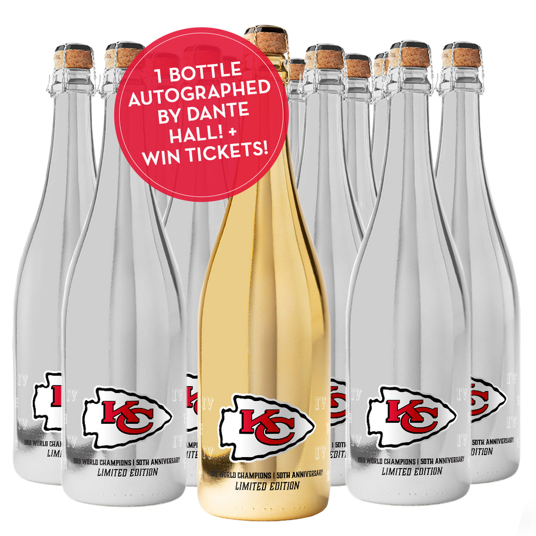 Chiefs Commemorative Bubbly 12 Pack