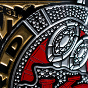 Kansas City Chiefs Champions Ring Etched Wine