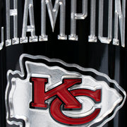 KC Chiefs 1969 Champions Etched Wine