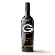 Green Bay Packers Commemorative Ice Bowl Etched Wine