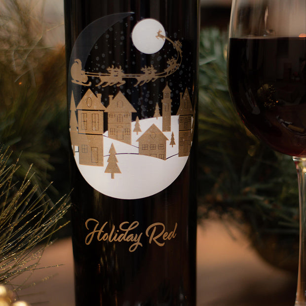 Snow Globe Holiday Red Cabernet