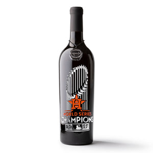 Houston Astros™ 2017 World Series™ Champions Etched Wine Bottle