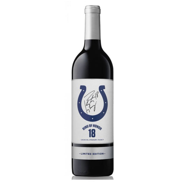 Limited Edition Peyton Manning Autographed Colts Wine Indianapolis Colts™ Reserve