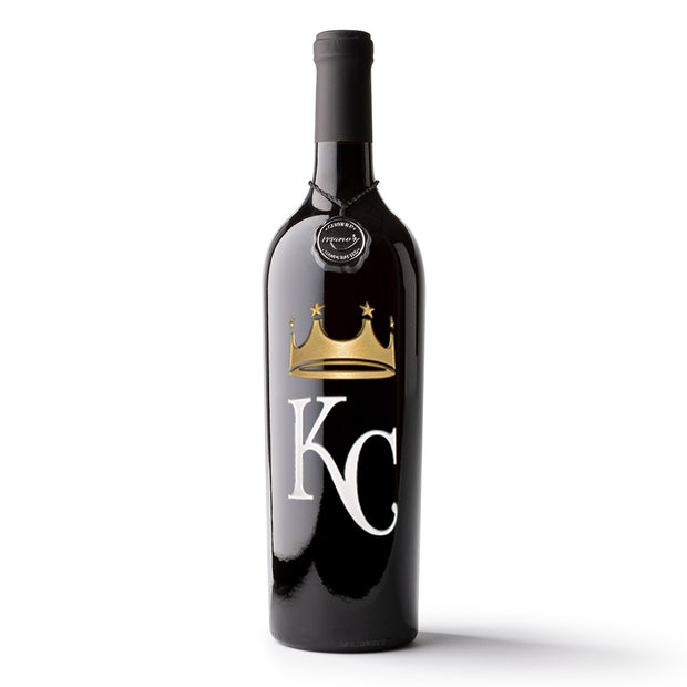 Kansas City Royals™ 2017 Etched Wine Bottle
