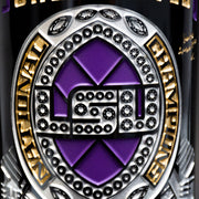 LSU 2019 Champions Ring Rendering Etched Wine