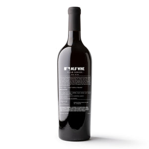 New York Mets™ Circle Skyline Etched Wine Bottle