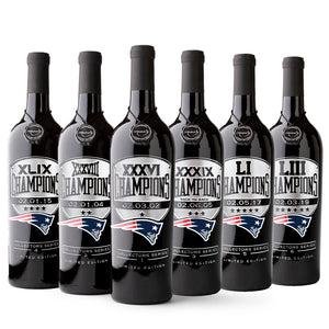 Patriots 6X Collectors Pack