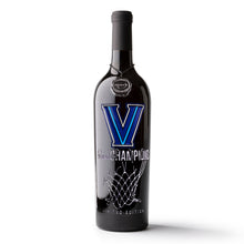 Load image into Gallery viewer, Villanova 2018 National Champions Net Etched Wine