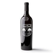 New York Red Bulls Logo Etched Wine