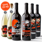 Cleveland Browns 6 Pack Collection