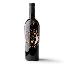 Load image into Gallery viewer, Philadelphia Union Circle Logo Etched Wine