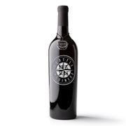 Seattle Mariners™ Etched Wine Bottle