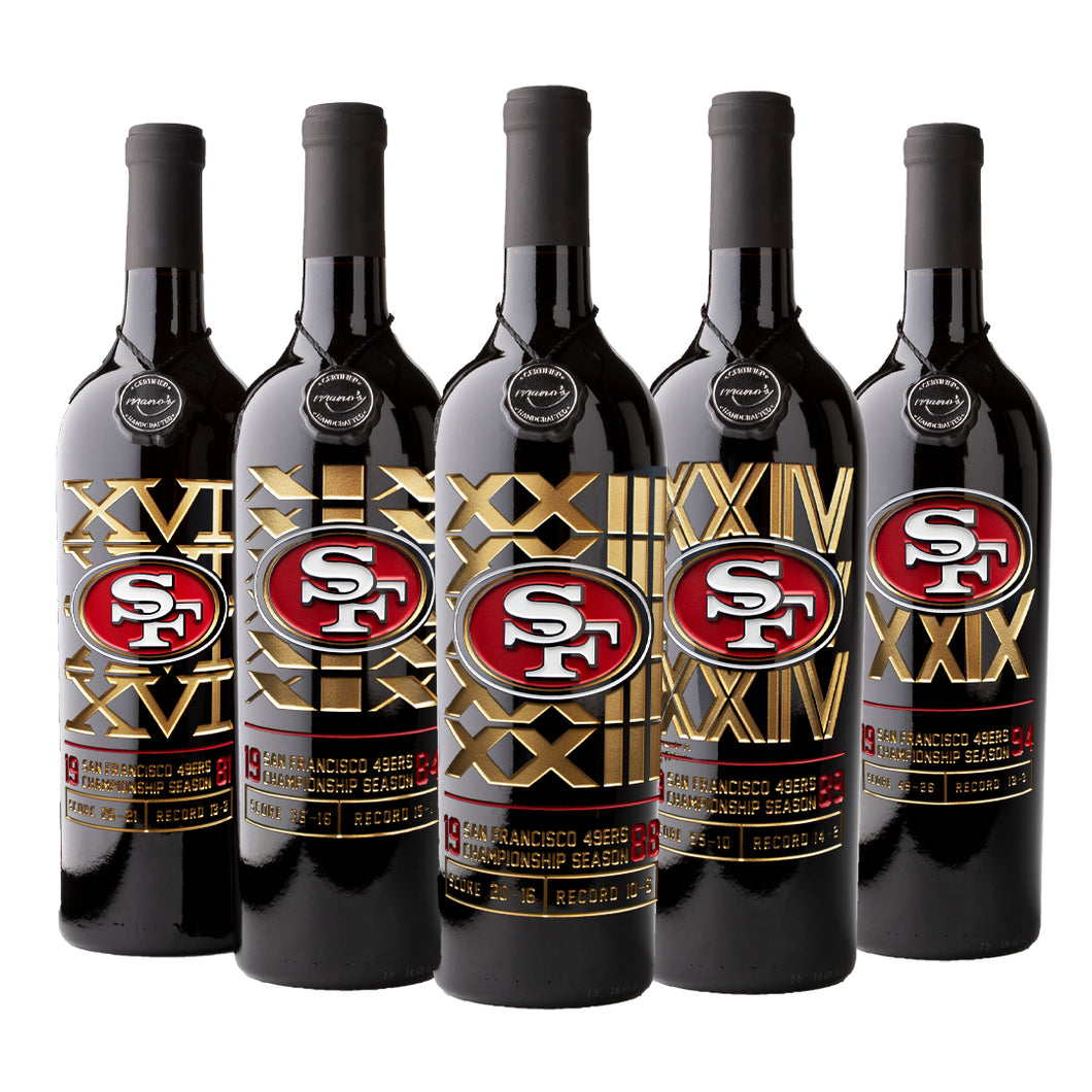 49ers Commemorative Championship 5 Pack