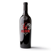 Be Mine Etched Wine
