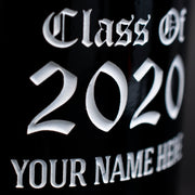 University of Arizona Custom Alumni Etched Wine