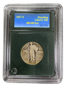 1927-S Standing Liberty 25¢