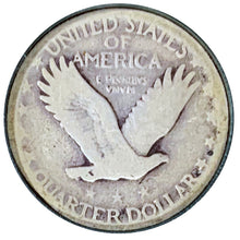 Load image into Gallery viewer, 1927-S Standing Liberty 25¢