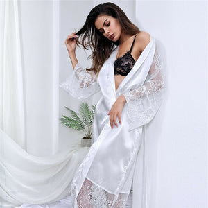 Women Bathrobe Sleepwear Robes Sleep