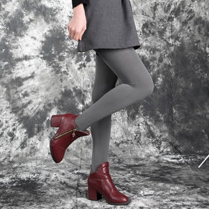 Casual Warm Faux Velvet Winter Leggins