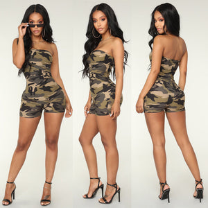 Jumpsuits New Women Solid Sleeveless