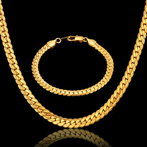 Hiphop Gold Chains For Men Hot Sale Bracelet/Necklace