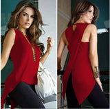 Sleeveless Women's Summer Blouse