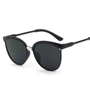 Female Cute Cat Eye Sun Glasses Women Popular