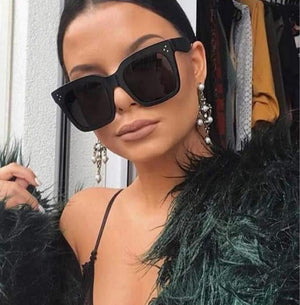 Kim Kardashian Sunglasses Lady Flat Top